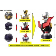 MAZINGER Complete Set 3 Different Figures That Make a 20cm Figure TAKARA TOMY Gashapon