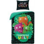 BED SET 140x200cm UGLY DOLLS Animated Movie Perfectly Ugly 70x90cm 100% Cotton Original