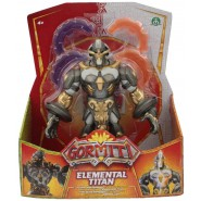 GORMITI ALPHA Figure ELEMENTAL TITAN 22cm Lights and Sounds Original Giochi Preziosi