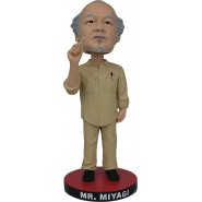 Icon Heroes Figure MR MIYAGI Bobble Head 20cm Originale KARATE KID