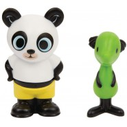 BING Box Blister 2-pack 2 Figures PANDO and PADGET 6cm Original GIOCHI PREZIOSI