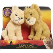 THE LION KING Couple 2 Plushies NALA and SIMBA 20cm Nuzzling Boxes ORIGINAL Giochi Preziosi