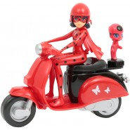 Figura Zoomin' LADYBUG 14cm With Tikki From Animated Movie MIRACULOUS Official ORIGINAL Zag Heroes