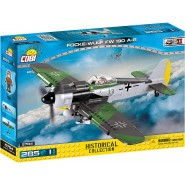 Playset AIRPLANE Plane Focke Wulf Fw 190A-8 Constructions COBI 5704 Building Blocks 285 pieces