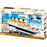 Playset Building Blocks RMS TITANIC SHIP 600 Pieces COBI 1914-A