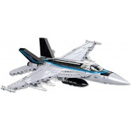 Playset AIRPLANE Plane F/A-18E Super Hornet Constructions TOP GUN MAVERICK COBI 5805 Building Blocks 570 pieces