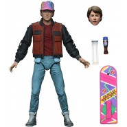 FIGURE Ultimate MARTY MC FLY 18cm With Accessories BACK TO THE FUTURE Original Official NECA