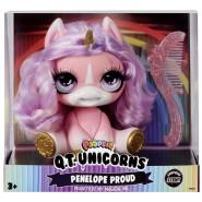 POOPSIE Q.T. Unicorns PENELOPE PROUD 12cm With Hairbrush ORIGINALE MGA