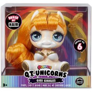 POOPSIE Q.T. Unicorns GIGI GIGGLES 12cm With Hairbrush ORIGINALE MGA