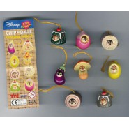 TOMY Set WITH VARIANTS total 8 Figures CHIP AND DALE Wear PART 3 DISNEY Danglers Disney Mini Winnies Wear Style
