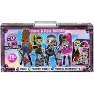 L.O.L. Surprise Playset Big Giant REMIX 2 Rock Band 70 Surprises And Musical Instruments Original MGA LOL
