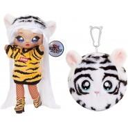 Doll BIANCA BENGAL Symbol TIGER PAW from NA NA NA Surprise SERIE 4 ORIGINAL MGA Lol