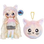 Doll PAULA PURRFECT Symbol CAT from NA NA NA Surprise SERIE 4 ORIGINAL MGA Lol
