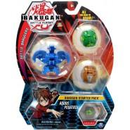 BAKUGAN Starter Set 3 Pieces Pack AQUOS PEGATRIX 1 Ultra 2 Normal etc. Original Spin Master