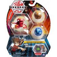BAKUGAN Starter Set Pack PYRUS PHAEDRUS 1 Ultra 2 Normal etc. Original Spin Master