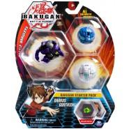 BAKUGAN Starter Set 3 Pack DARKUS GORTHION 1 Ultra 2 Normal etc. Original Spin Master