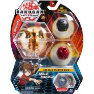 BAKUGAN Starter Set Pack AURELUS DRAGONOID 1 Ultra 2 Normal etc. Original Spin Master