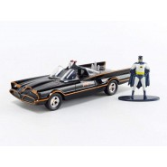 Model BATMOBILE Batman 1966 CLASSIC TV SERIE Car 14cm With Figure BATMAN 1/32 DIE CAST DC Comics JADA Toys 31703