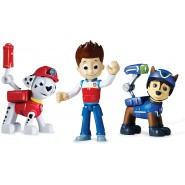 PAW PATROL Playset 3 Figures RESCUE MARSHALL RYDER SPY CHASE Action Pack Set SpinMaster