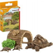 Turtle with Home Wild Life Schleich 42506