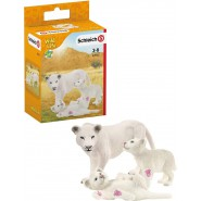 Lionness With Babies Wild Life Schleich 42505