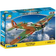Playset AIRPLANE Plane Hawker Hurricane MK 1 Constructions COBI 5709 Building Blocks 270 pieces