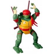 NINJA TURTLE Action Figure Posable RAFFAELLO 15cm With Ninja Spin Action Mutant Original Giochi Preziosi