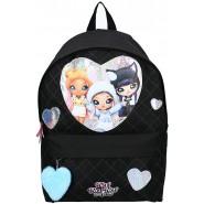 Backpack NA! NA! NA! TRIO 3 Characters GLITTERED Hearts  ORIGINAL Vadobag NA NA NA