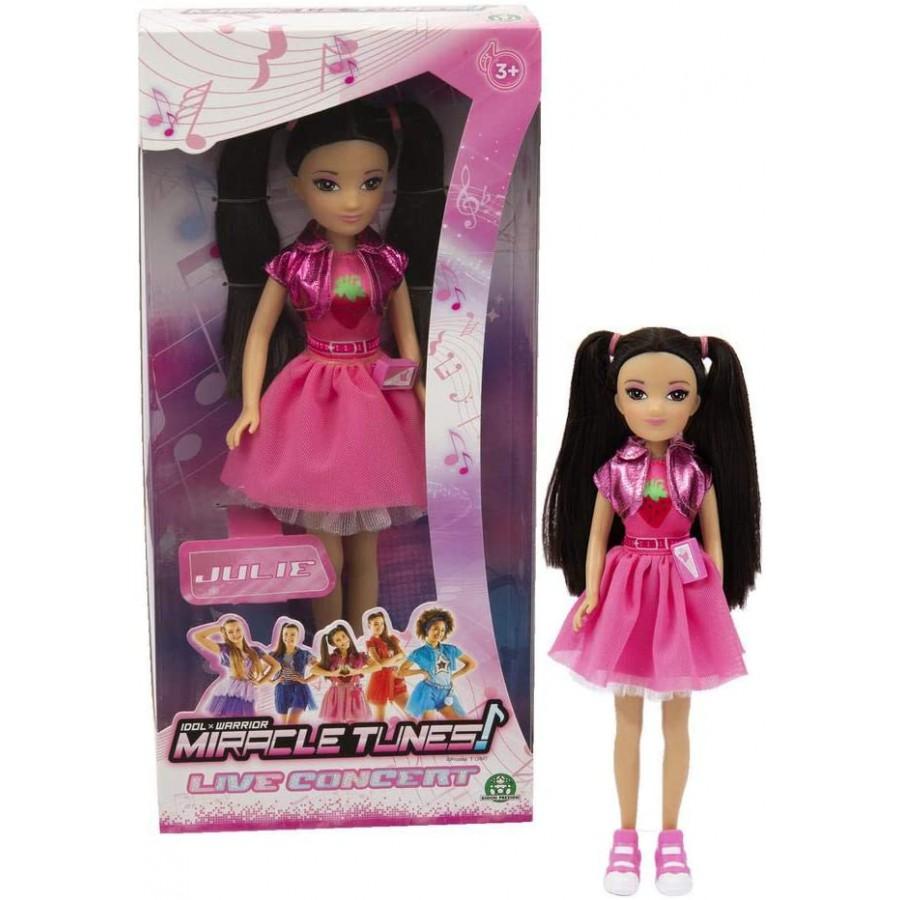Julie Miracle Tunes Doll 25cm Idol Warrior Live Concert Original Giochi Preziosi Apecollection
