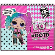L.O.L. SURPRISE Playset OOTD OUTFIT OF THE DAY 2020 with 25 Pieces ADVENT CALENDAR Official ENGLISH MGA