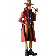 Figure Statue Inspector ZENIGATA 17cm (7'') COLOR VERSION Serie CREATOR X CREATOR Part 5 Original BANPRESTO LUPIN III