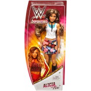ALICIA FOX Action FIGURE 30cm WWE Superstar Wrestling Original Mattel FNC53