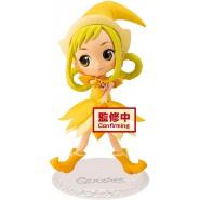 Figure Statue 14cm MOMOKO ASUKA Mindy From Magical Doremi QPOSKET Banpresto Yellow Dress Version A