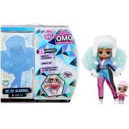 BOX 2 Fashion Dolls ICY GURL and Baby BRRR B.B. Serie WINTER CHILL O.M.G. Fashion Doll ORIGINAL L.O.L. Surprise MGA LOL OMG