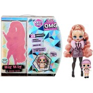 BOX 2 Fashion Dolls BIG WIG and Baby MADAME QUEEN Serie WINTER CHILL O.M.G. Fashion Doll ORIGINAL L.O.L. Surprise MGA LOL OMG