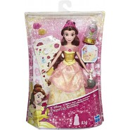 Doll BELLE GLITTER STYLE Original HASBRO E5599 DISNEY Princess