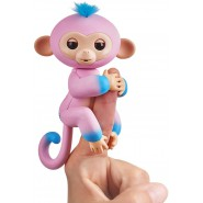 FINGERLINGS Monkey CANDI 12cm PINK and Blue Baby Monkey Robotic Interactive WowWee