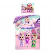 Bed Set CRY BABIES 100% Cotton DUVET and PILLOW COVER Official ORIGINAL