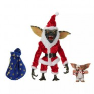 GREMLINS Special 2-PACK Action Figures STRIPE Santa Claus and GIZMO Original NECA