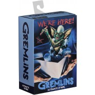 GREMLINS Action Figure 18cm STRIPE Ultimate Version SKATE and CHAINSAW Original NECA