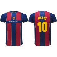 New Jersey 2020 - 2021 LIONEL LEO MESSI Number 10 BARCELONA FCB Barca T-SHIRT Replica OFFICIAL Authentic