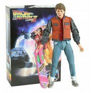 FIGURE Ultimate MARTY McFLY 18cm from PART 2 BACK TO THE FUTURE Original Official NECA