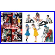 Set 8 Figures EVA GIRLS Evangelion Gals SPECIAL OVA VERSION Original BANDAI JAPAN