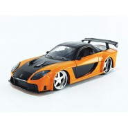 FAST and FURIOUS Model Han's MAZDA RX-7 1/24 20cm Collector's Series Original JADA Toys 30732