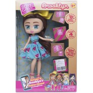 Figure Doll Boxy Girls BROOKLYN 20cm With 12 surprises to unbox Official Original