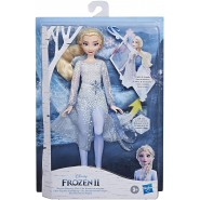 FROZEN 2 Figure Doll ELSA magical Discovery Lights And Sounds 30cm Original HASBRO E8569
