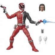 Figure Character POWER RANGERS S.P.D. Lightning Collection 15cm Red Ranger Original HASBRO E8653