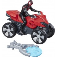 SPIDER MAN Action Figure10cm With Vehicle And Accessories BLAST AND GO Marvel Hasbro B9995