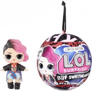 L.O.L. SURPRISE Ball Sphere BFF SWEETHEARTS Punk Girl Official ORIGINAL LOL MGA