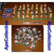 Ultra Rare COMPLETE SET 36 Figures Statues SOCCER PLAYERS 2003-2004 Collection PANINI Italy Bomberini